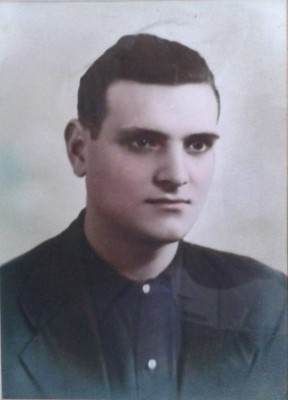 Il partigiano Elvio Palazzoli (Foto ANPI E.Palazzoli Grosseto)