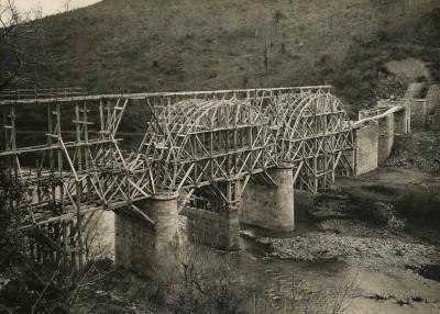 Ponte sul fiume Fiora (1940-1942)