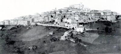 Vecchia foto di Manciano