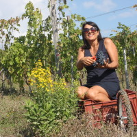 Antonella Manuli proprietaria dell'azienda agricola La Maliosa-Saturnia