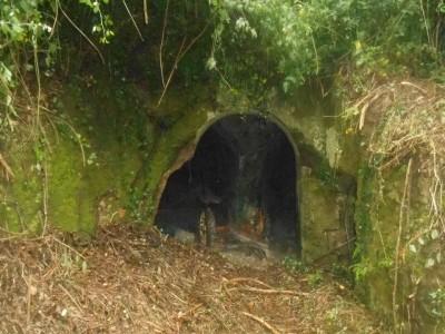 L'ingresso della Grotta delle Riparelle