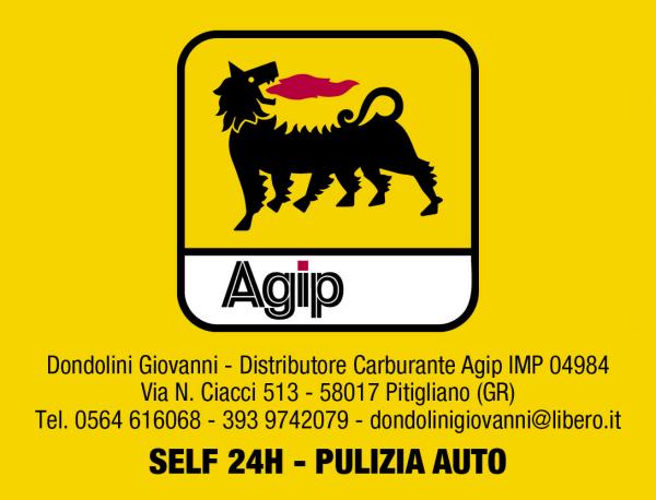 Distributore Agip Dondolini