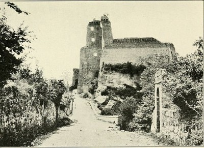 sovana antica rocca