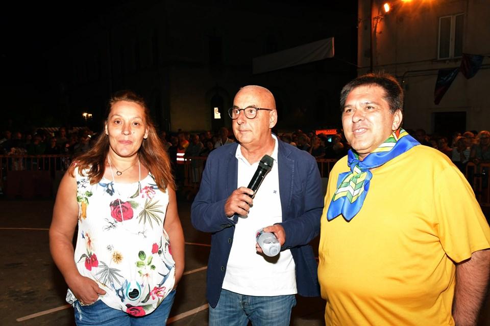 Valeria Bruni, sindaco Morini, Fabrizio Pinzi
